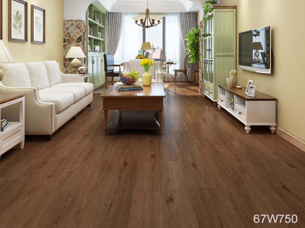 Durable Diamond Wood SPC Vinyl Flooring With 0.5mm Protective Layer hot sales all the world with IXPE or core back